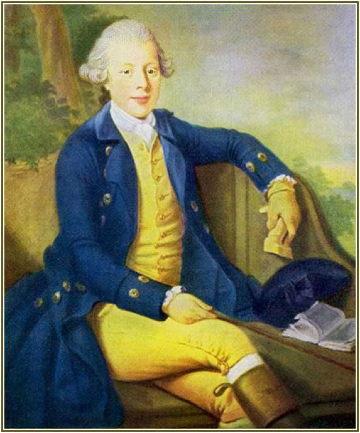Les Souffrances du jeune Werther est un roman épistolaire de Goethe. Paru en 1774 le livre, qui est à l'origine du Romantisme, provoqua une vague de suicides et une mode : costume jaune et bleu, comme la tenue de bal de Werther, et robe rose et blanche, comme celle de Charlotte.